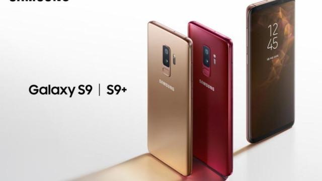 A Samsung confirmou duas novas cores para o Galaxy S9