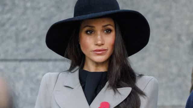 O look desportivo de Meghan Markle no regresso a Londres