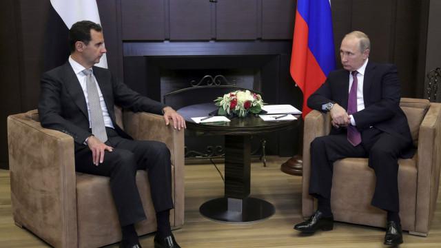 Assad está na Rússia para falar com Putin