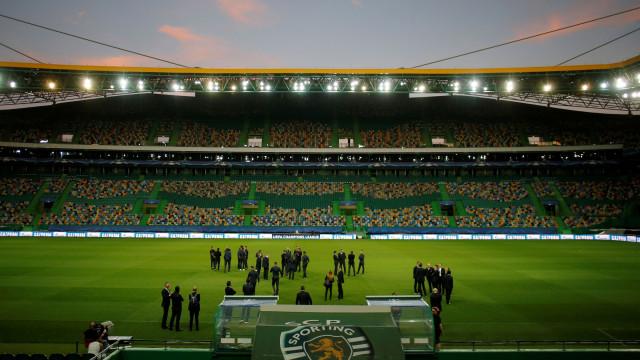 """Sporting promete: Questão dos 22 títulos continuará """"no topo da agenda"""""""