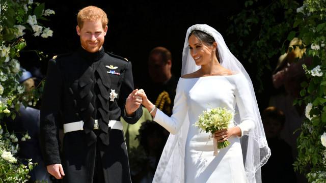 Estilista acusa Meghan Markle de ter copiado vestido de noiva