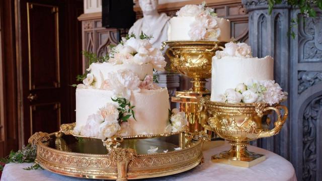 Eis o aguardado bolo de casamento de Meghan e Harry