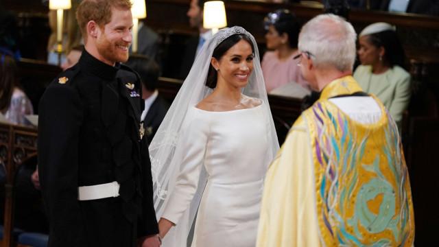 'Stand By Me': Coro protagoniza um dos momentos altos do casamento real