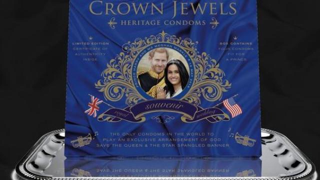 O 'souvenir' mais bizarro do Casamento Real