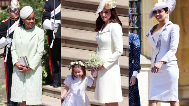 Os convidados mais bem vestidos no casamento de Meghan e Harry