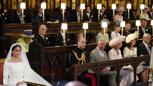 Havia um lugar vazio no casamento de Meghan e Harry. Era para Diana