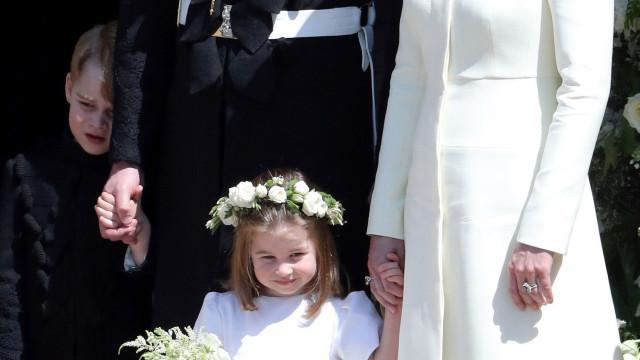 Príncipe George: A única coisa que queria no casamento era uma boa sesta