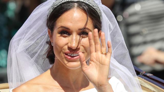 Casamento real: Meghan Markle disse um palavrão à saída da igreja