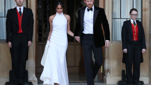 Segundo vestido de casamento Meghan Markle foi escolhido por estas razões
