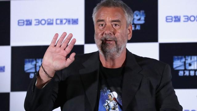 Atriz acusa realizador Luc Besson de violação