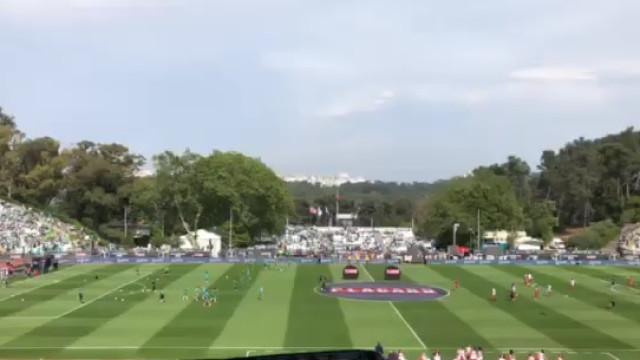 Momento arrepiante: Adeptos do Sporting entoam 'O Mundo Sabe Que'