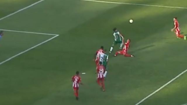 Golo acrobático de Montero renovou esperança ao Sporting