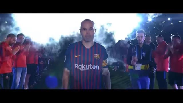Barcelona despede-se de Andrés Iniesta com grande festa