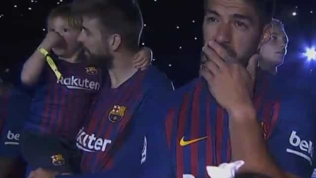 O arrepiante discurso de Iniesta que deixou todos de lágrimas nos olhos