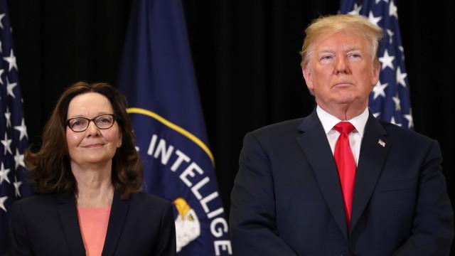 Donald Trump elogia nova diretora da CIA