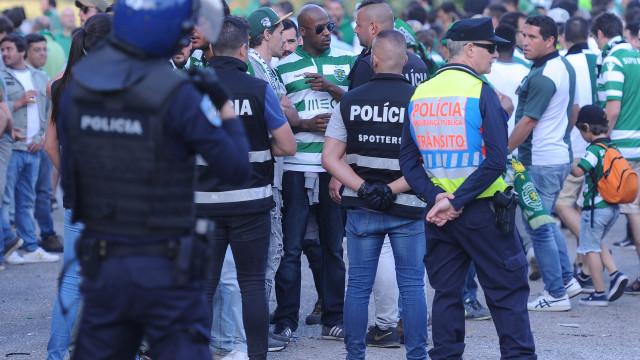 Sporting: AG com medidas de segurança similares aos jogos de alto risco