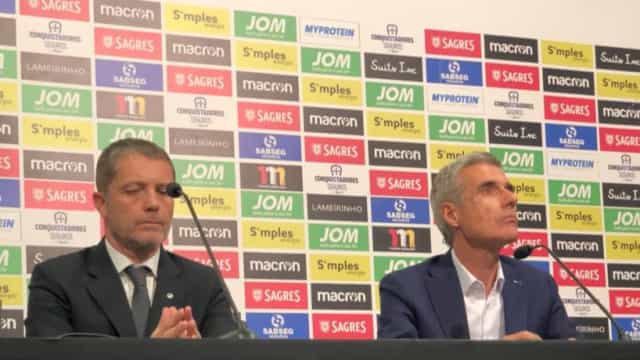 Luís Castro é apresentado no Berço e revela o objetivo europeu do clube