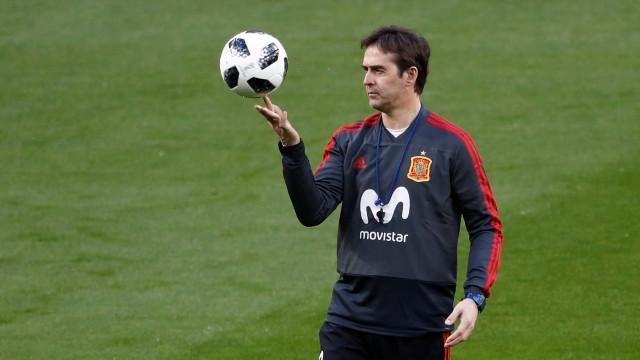 Lopetegui pode ser despedido antes do jogo com Portugal