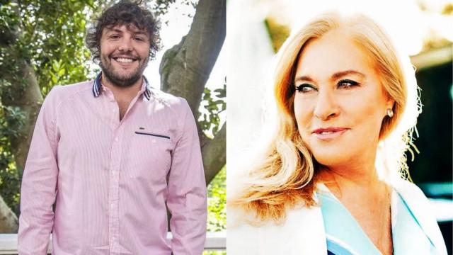 César Mourão faz piada sobre saída de Teresa Guilherme da TVI