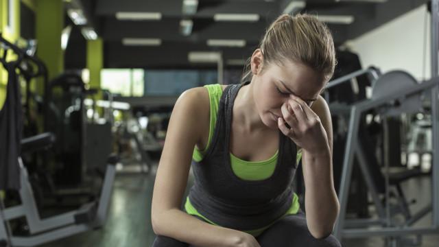 Pode treinar quando está doente? Sim, mas tenha isso em conta