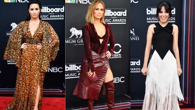 Billboard Music Awards: Os looks que arrasaram na passadeira vermelha