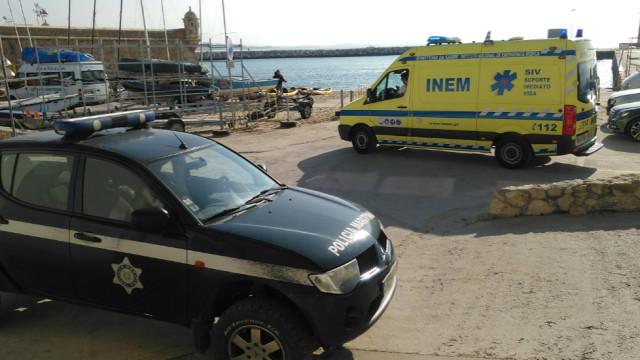 Resgatado irlandês que caiu de uma falésia em praia de Lagos