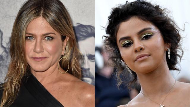 Ciúmes: Jennifer Aniston em 'guerra aberta' com Selena Gomez