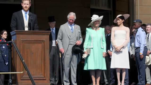 Abelha leva príncipe Harry a interromper discurso durante evento oficial