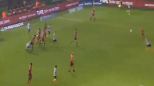 'Tiraço', euforia e festa estragada por... emprestado do Benfica