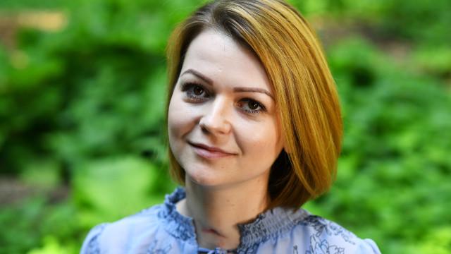 """""""A minha vida foi virada do avesso"""", diz Yulia Skripal"""