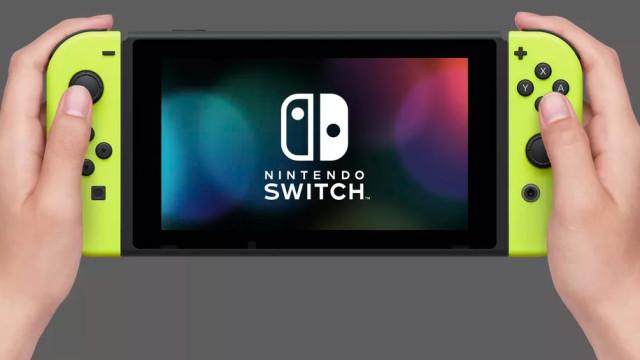 A Nintendo Switch terá uma versão mais barata