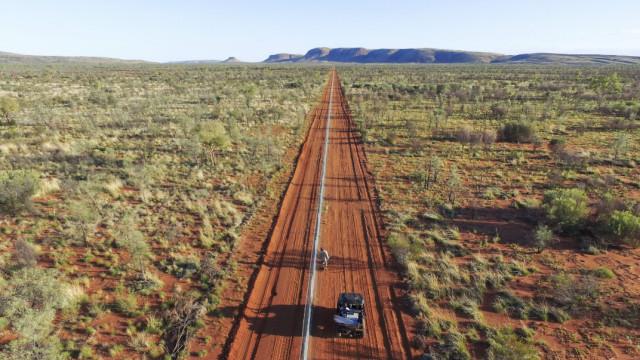 Espécies em vias de extinção protegidas na Austrália com cerca elétrica
