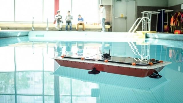 Projeto criou barcos autónomos capazes de se transformarem em pontes
