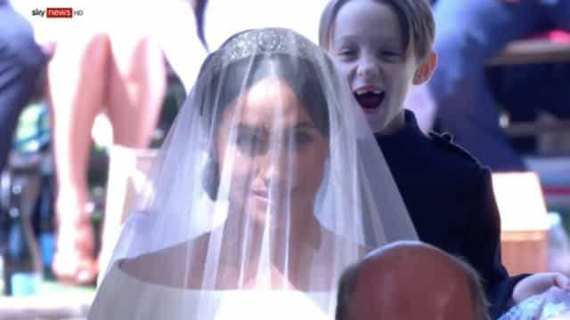 A história por trás da foto mais engraçada do casamento de Meghan e Harry