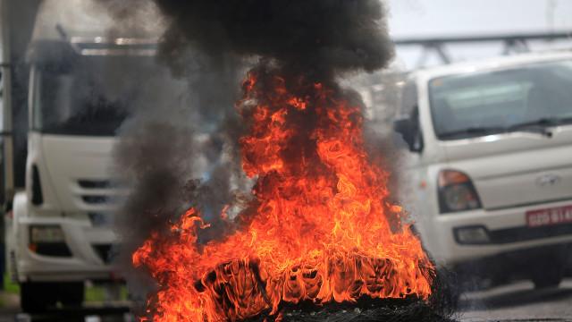 A cidade mais rica do Brasil decretou hoje o estado de emergência