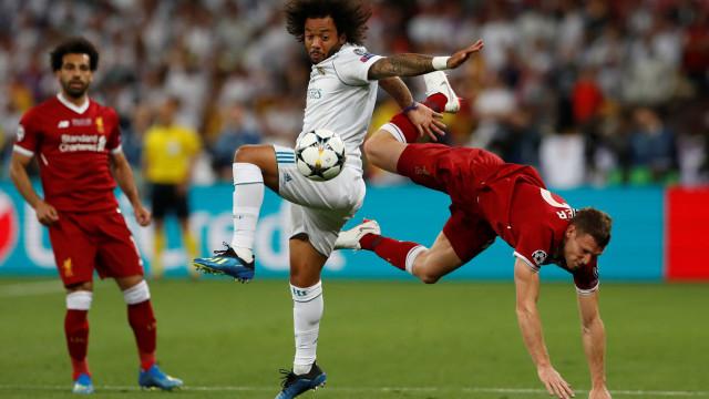[0-0] Real Madrid-Liverpool: Mais um jogador em lágrimas em Kiev