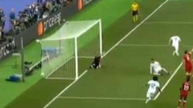 A posição irregular de Ronaldo que acabou num golo anulado a Benzema