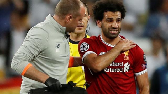 """""""Lesão de Salah? Não tinha nada bom aspeto"""""""