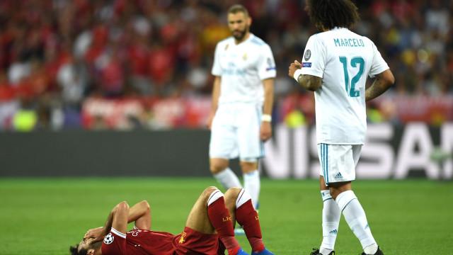 Já se conhece a lesão de Mohamed Salah