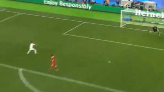 Mais um erro de Karius, mais um golo de Bale
