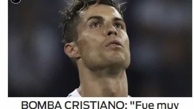 Lá por fora: CR7 'estraga' a conquista europeia do Real Madrid
