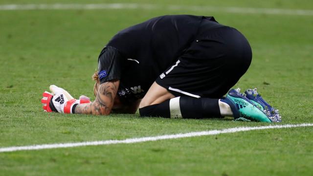 """Karius devastado após a final da Champions: """"Custei o jogo ao Liverpool"""""""