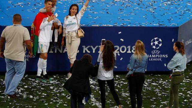 """Georgina sobre Ronaldo: """"És um exemplo para todo o mundo"""""""