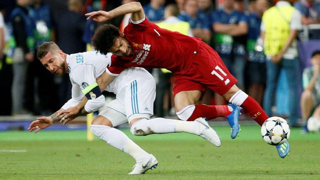 Sergio Ramos não deixa Ronaldo e Klopp sem resposta