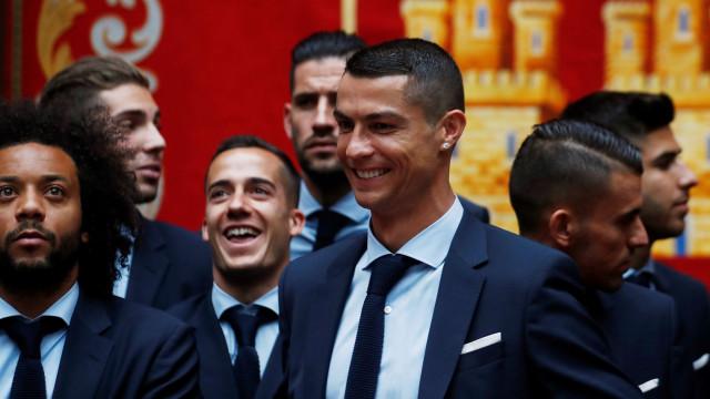 Depois da 'bomba' do quase adeus, CR7 soltou grito de 'guerra' em Madrid