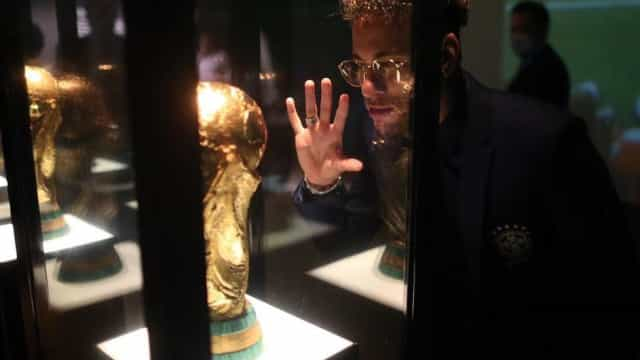 """Neymar e a Taça do Mundo: """"Estou a ir ao teu encontro"""""""
