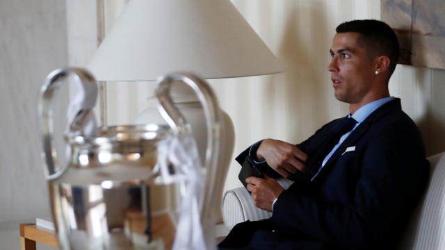 A reação de Buffon à contratação de Ronaldo pela Juventus