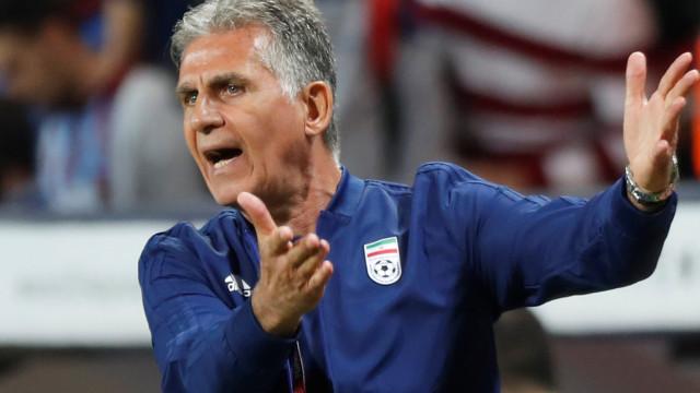 Irão, de Carlos Queiroz, vence Trindade e Tobago