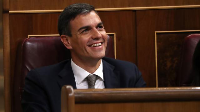 Desta vez os socialistas têm o melhor candidato, diz Pedro Sánchez