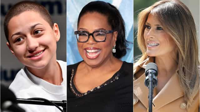 São estas as 30 mulheres mais influentes de 2018